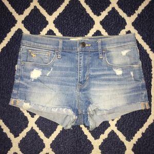 Abercrombie kids jean shorts
